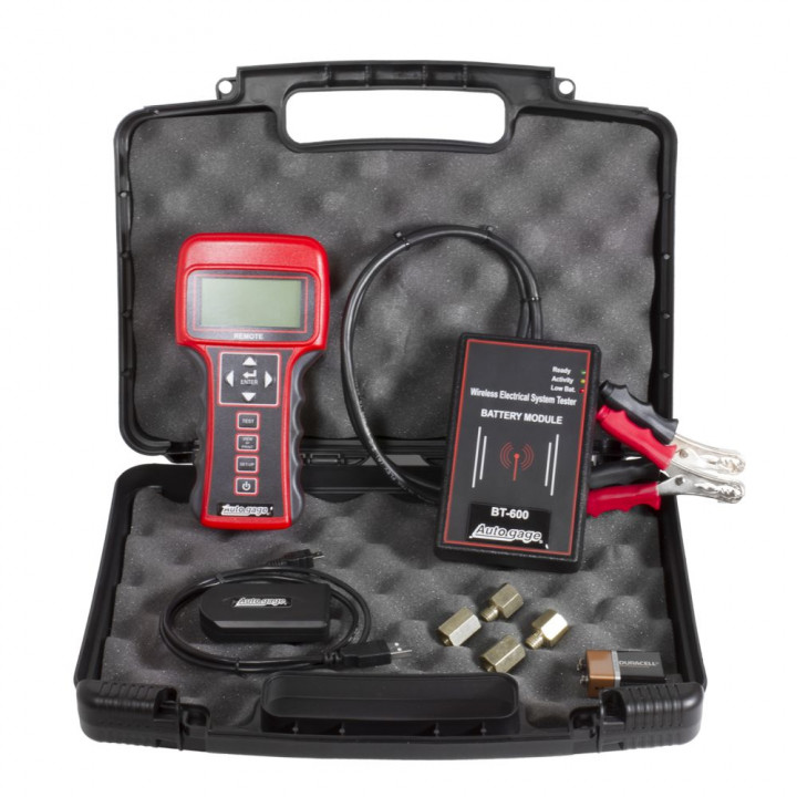 Auto Meter Battery Testers