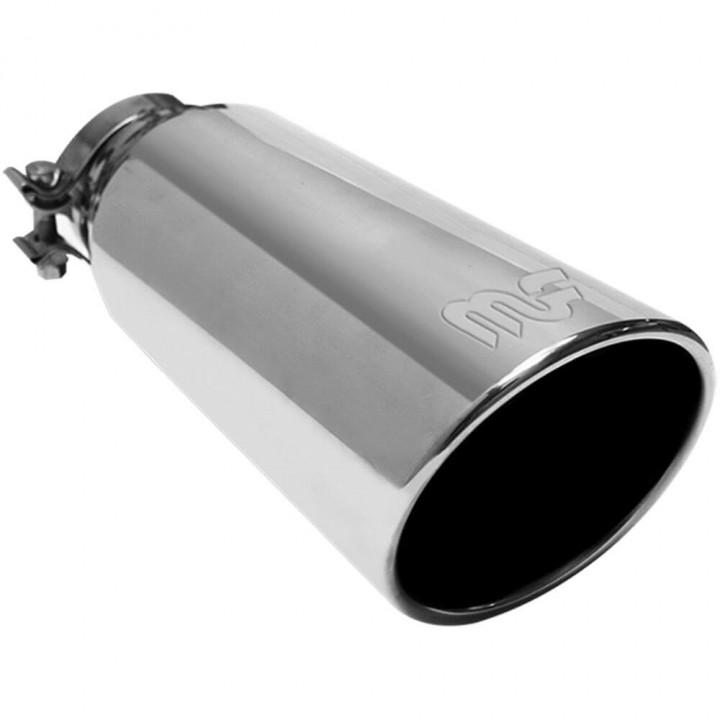 Magnaflow Round Clamp-On Exhaust Tip Image 1