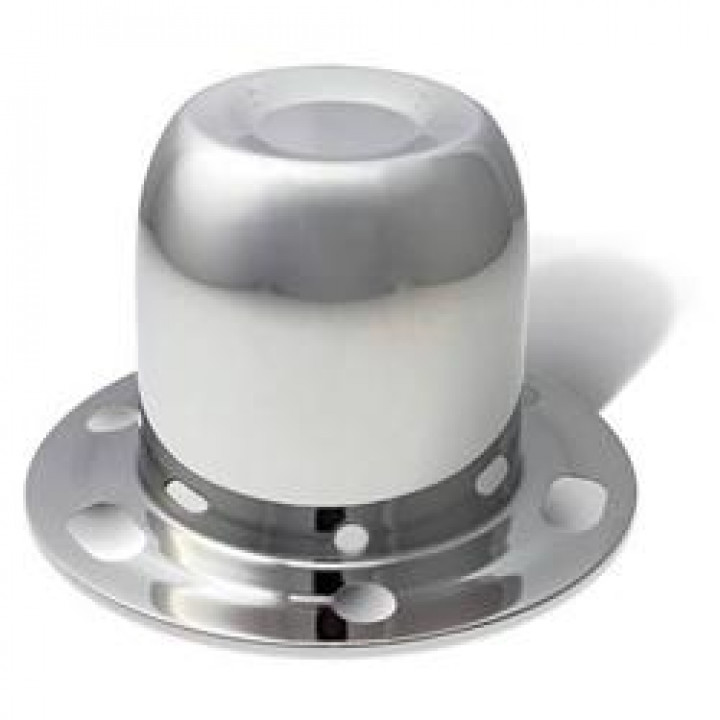 "Gorilla HC227SS - Stainless Steel-Bulk HUB Covers Bulk 4.25"" OD-Closed Derby (Quantity: 50)"