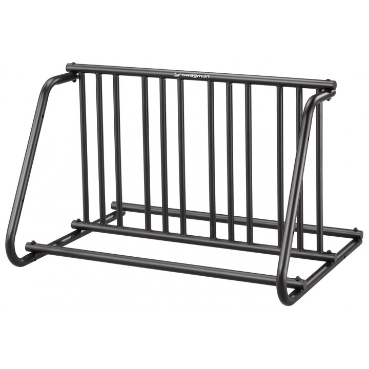"""Swagman 7504D - City Series 8 Bike Commercial Bike Stand """"Double"""" (Holds 8 Bikes)"""