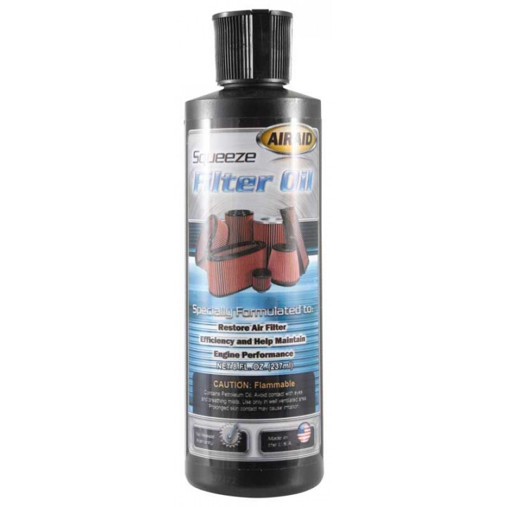 Airaid 790-565 - Air Filter Oil 8oz Squeeze Oil - BLUE