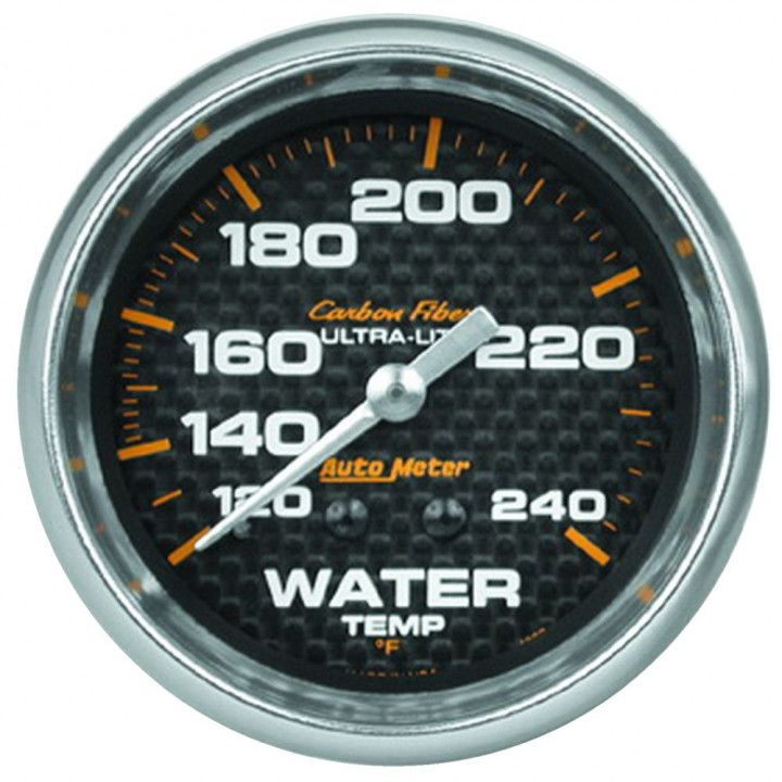 "Auto Meter 4832 - 2-5/8"" Water Temp, 120-240'F, 6' Line, Mechanical, CF"