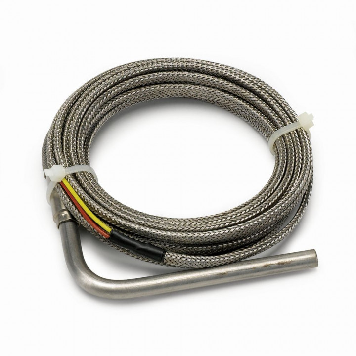 "Auto Meter 5245 - 1/4"" Stainless Steel Racing Probe w/10' Wire"