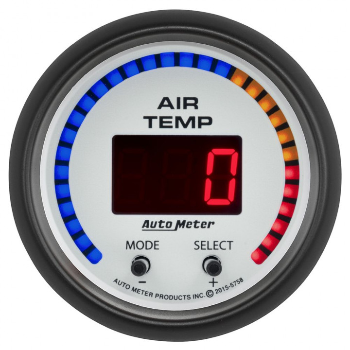 Auto Meter 5758 - Phantom Air Temperature - Dual