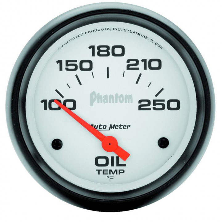 "Auto Meter 5847 - 2-5/8"" Oil Temp, 100-250'F, Phantom"