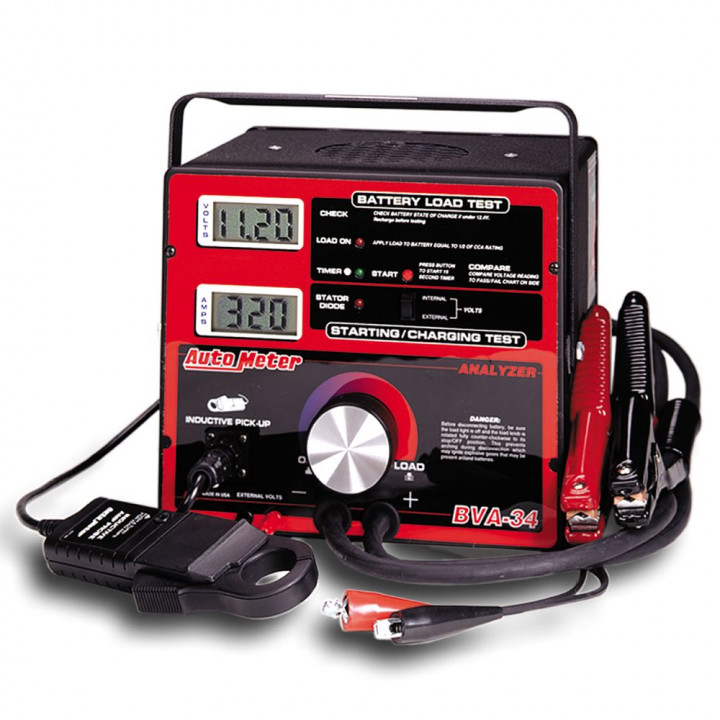 Auto Meter BVA-34 - Battery/Electrical System Tester