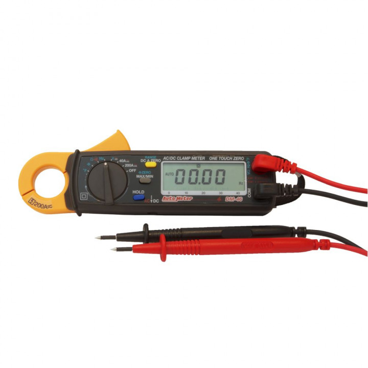 Auto Meter DM-46 - Ac/Dc Current Clamp Meter, High Resistance