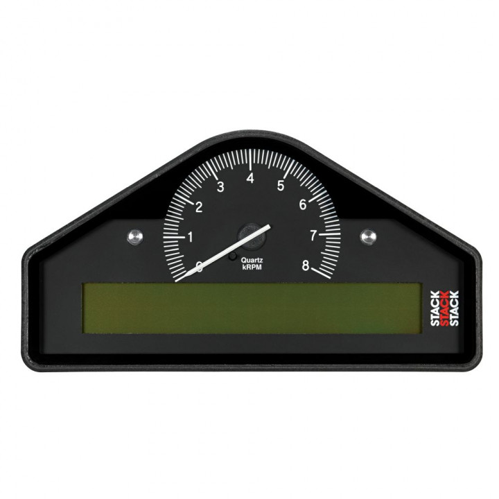 Auto Meter ST8100-A-EC - Stack Pre-Configured Race Dash Display - (0-8K RPM) - (BAR-DEG. C-KM/H)