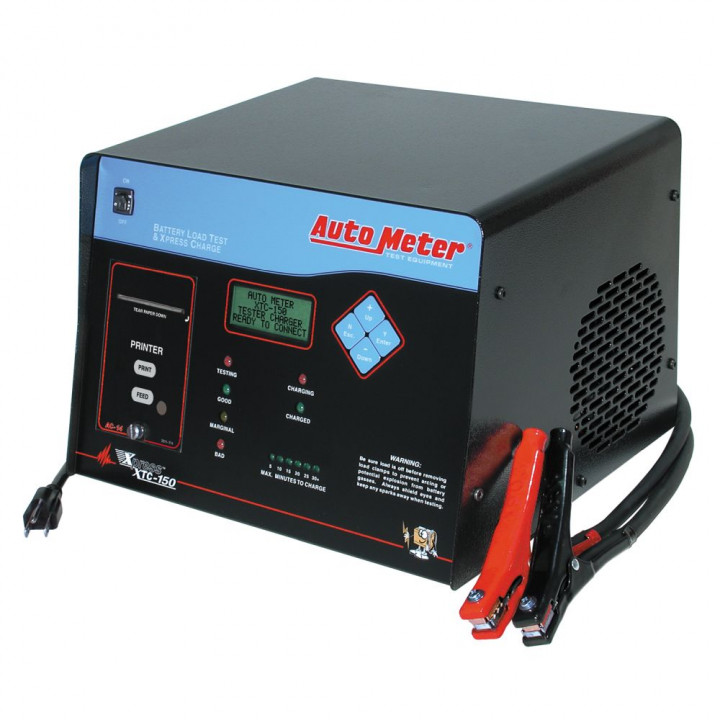 Auto Meter XTC-150 - Automatic Battery Tester/Fast Charger