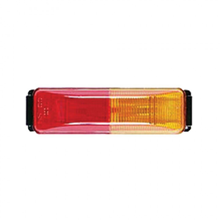 Bargman 40-38-004 - Clearance/Side Light Red/Amber (No Base)