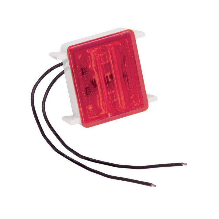 Bargman 42-86-410 - LED Wrap-Around Side Marker Clearance Light Upgrade Module Red