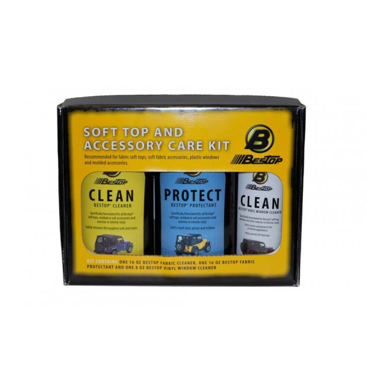 Bestop 11215-00 - Cleaner & Protectant Pack - (Fabric Protectant)