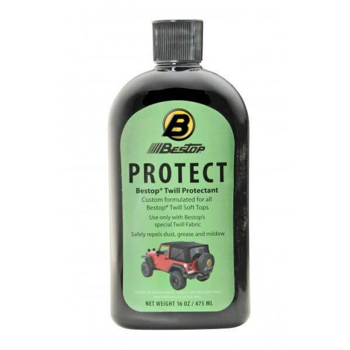 Bestop 11217-00 - Protectant for Black Twill Soft Tops
