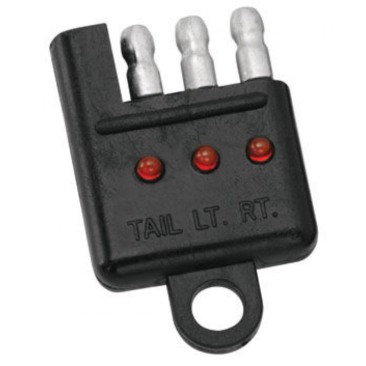 Tow Ready 20114 - 4-Flat Car End Tester w/LED Display