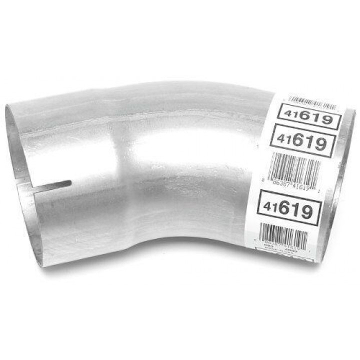 DynoMax 41619 - Mandrel-Bent Elbows - Aluminized