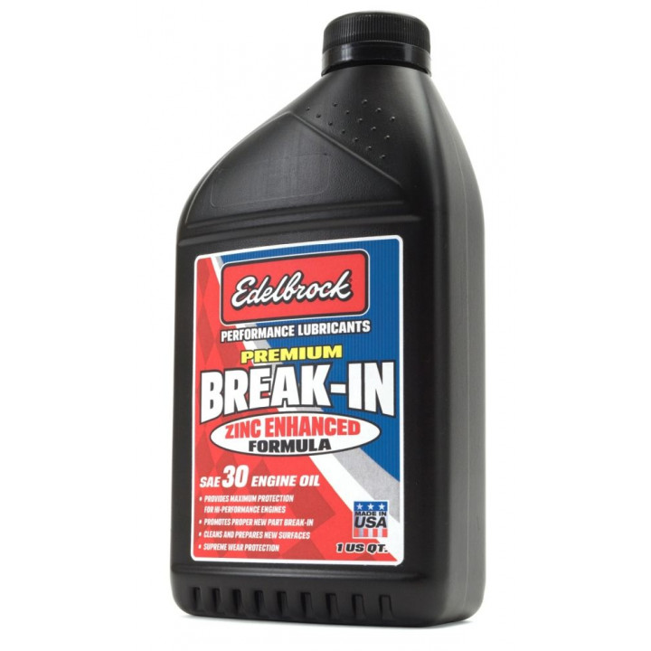 Edelbrock 1070 - High Performance Premium Break-In Oil