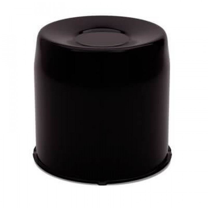 "Gorilla HC211BC - Black Finish HUB Covers 5.1"" OD-Closed (Must be purchased in quantity of 10)"