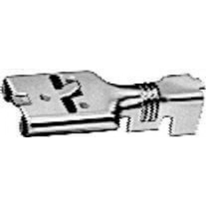 HELLA 701235033 - Terminal for Relay - Female 6.3 x 0.8mm Catch