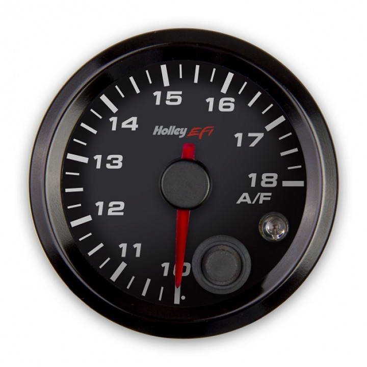 Holley 553-132 - Air/Fuel Right Gauge - (Black)