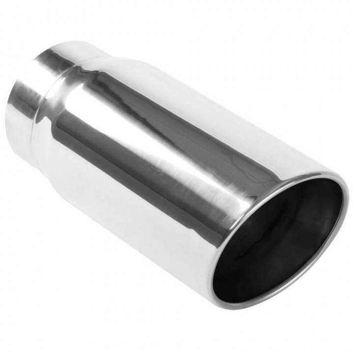 """Magnaflow 35233 - Round 15 Deg. Double Wall Exhaust Tip (5"""" ID/6"""" OD)"""