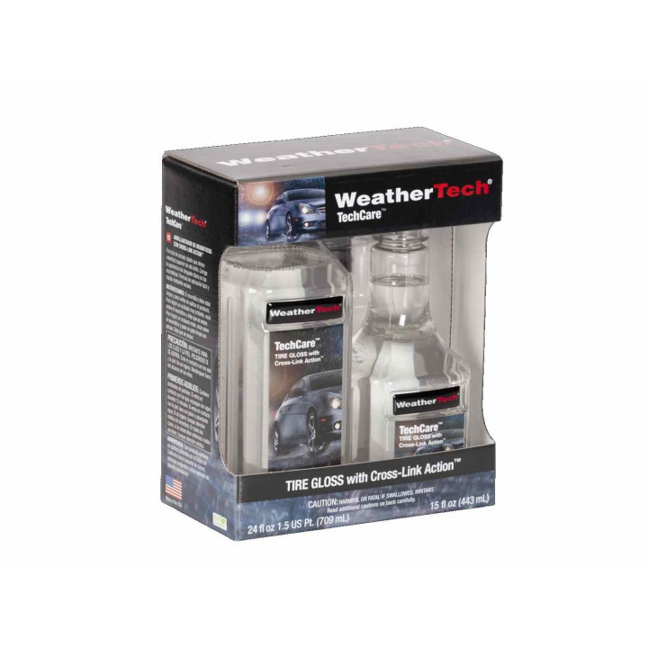 WeatherTech 8LTC6K- Techcare Tire Gloss With Cross-Link Action Kit