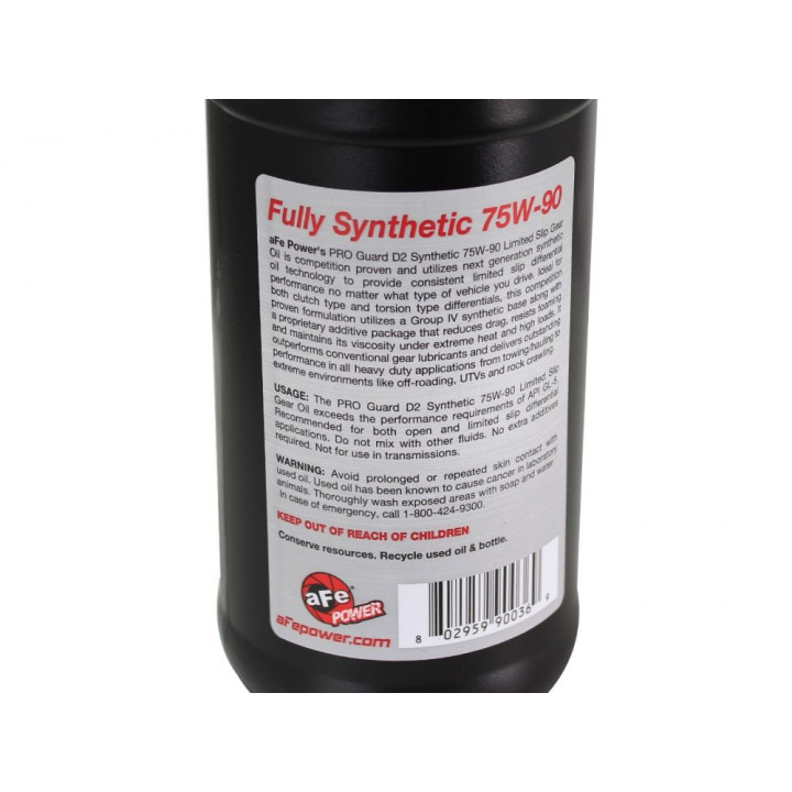 aFe Pro GUARD D2 Synthetic Gear Oil
