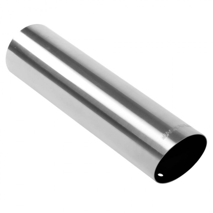 "Magnaflow 15"" Non-Rolled Single Wall Exhaust Tip Image 1"